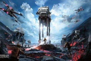 Star Wars- Battlefront gameplay