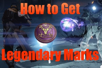 Learn how to get legendary marks fast in destiny the taken king
