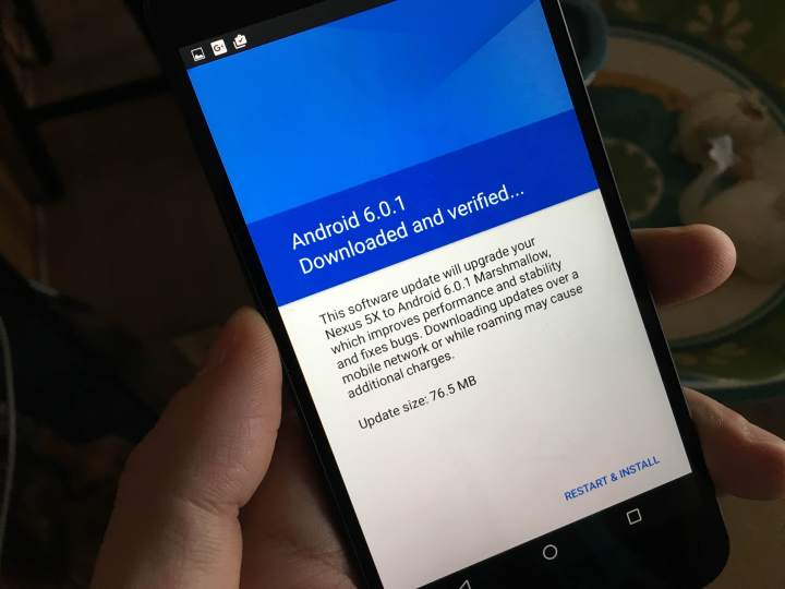 Nexus 5X Android 6.0.1 Update Review