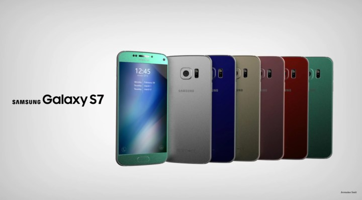 Fan-made images of the upcoming Galaxy S7