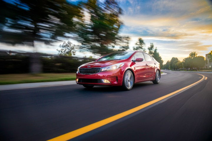 The 2017 Kia Forte Sedan boasts a new style and upgraded smart features.