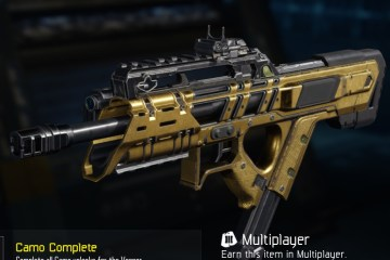 Black Ops 3 Gold Camo
