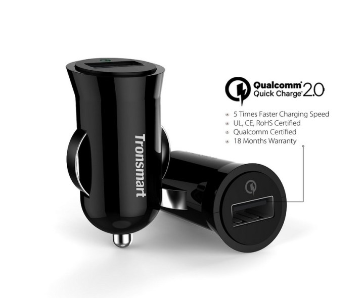 Tronsmart Quick Charge 2.0 Car Charger