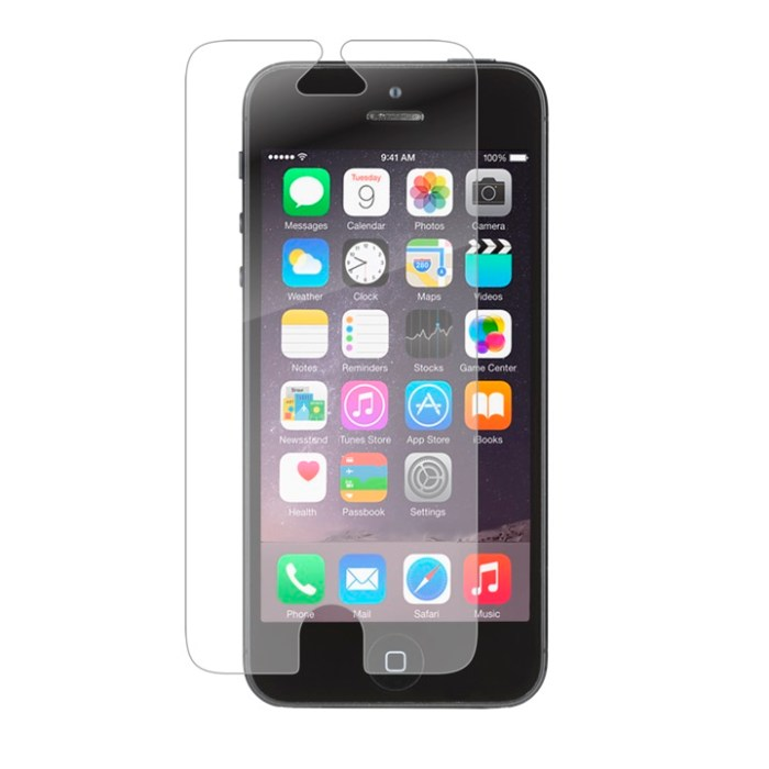 ZAGG InvisibleShield Glass iPhone SE Screen Protector