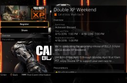 Get ready for another April Black Ops 3 Double XP event.