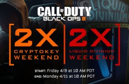 What you need to know about the April Black Ops 3 Double Crytpokeys weekend and Double Liquid Divinium weekend.