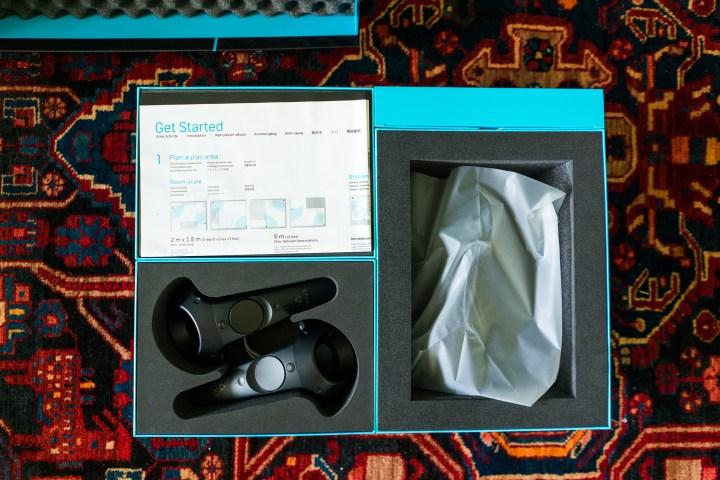 HTC Vive Review - Box