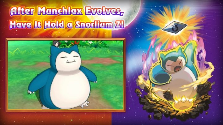 snorlax pokemon sun and moon pre-order extra