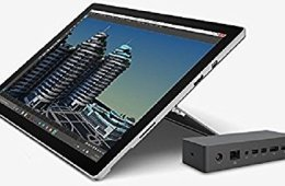 microsoft dock connected to surface 2