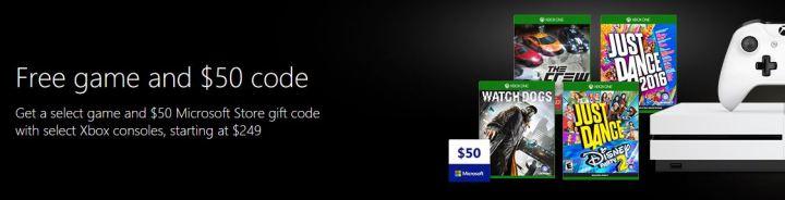 Free Gift Code Xbox One Microsoft Store
