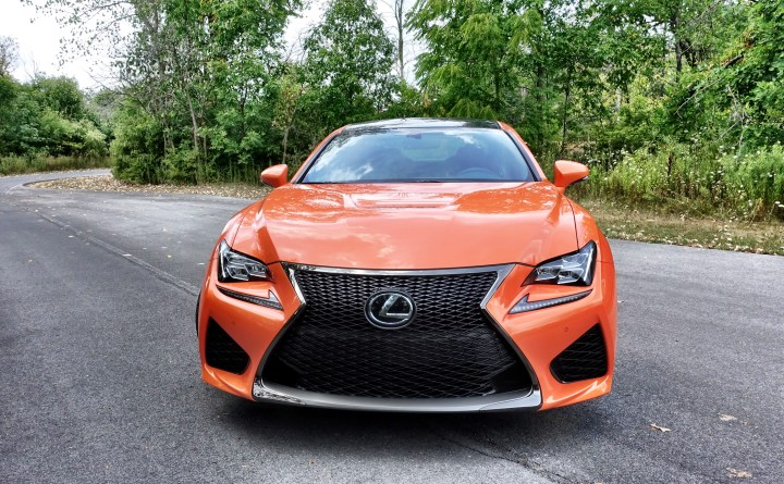 The Lexus RC F is a fun car that can adapt to your skill level.