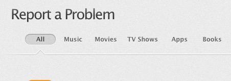 Report iTunes App Problem Refund Request - 0