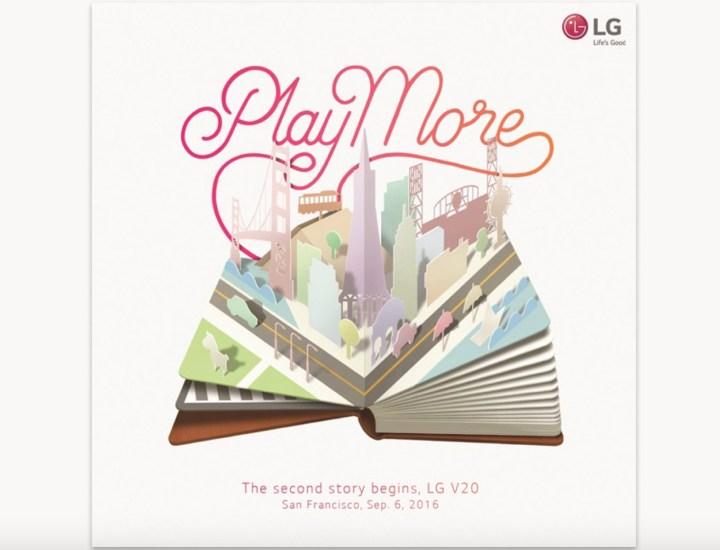 LG V20 Release Confirmed