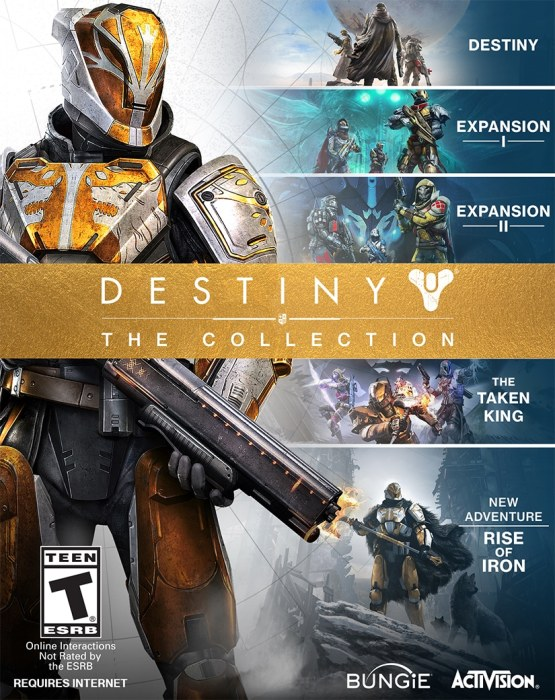 destiny the collection