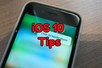 iOS 10 Tips Tricks