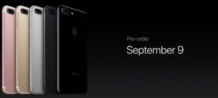 The iPhone 7 pre-order date is this Friday.