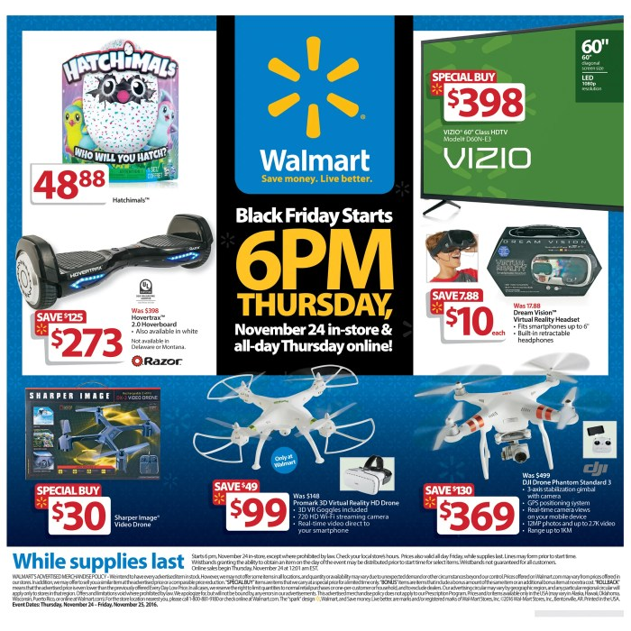 Walmart Black Friday 2016 Ad Stuns Shoppers
