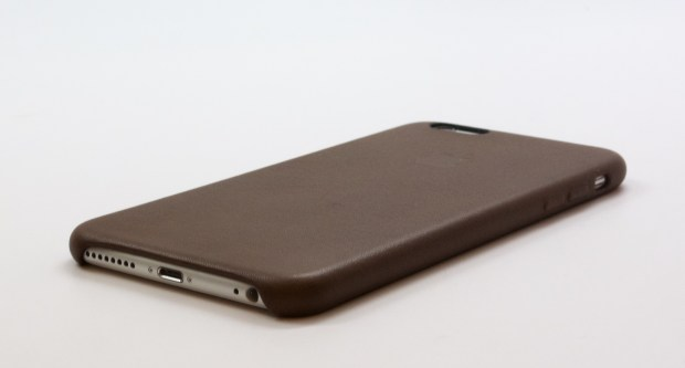 The case leaves easy access to the important parts of the iPhone 6 Plus.