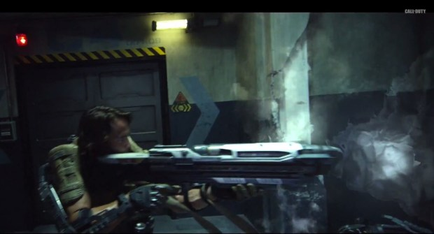 SledgeHammer games shows off cool new tools in the Call of Duty: Advanced Warfare live action trailer.