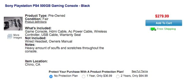 Save $120 on this used PS4 deal that includes almost everything you'd get at full price.