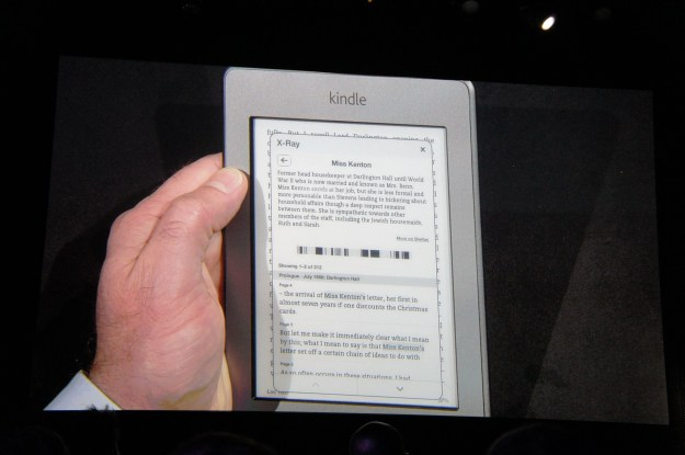 Kindle Touch Demo