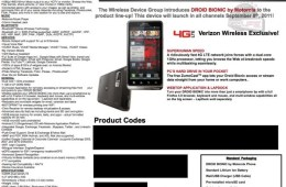 Droid Bionic Launch Date and Specs