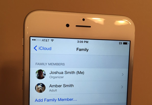 Share apps, movies, music and books between family members.