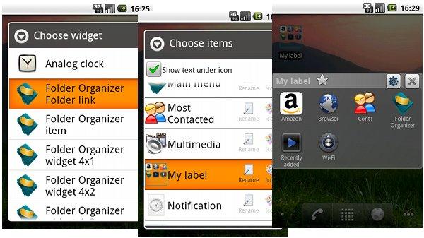 Folder Organizer app