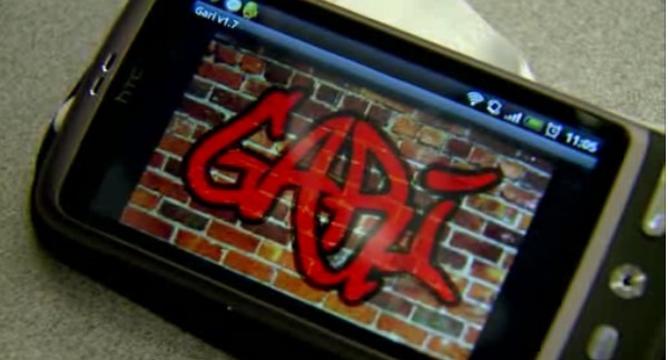 GARI interprets graffiti for law enforcement