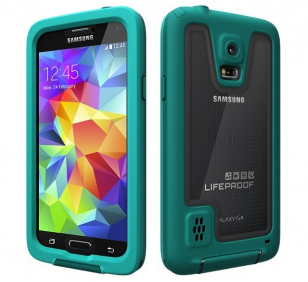 Double up your protection with the LifeProof Galaxy S5 case.