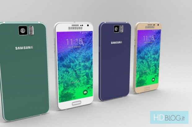 This beautiful Galaxy S6 concept brings Galaxy S6 rumors to life.