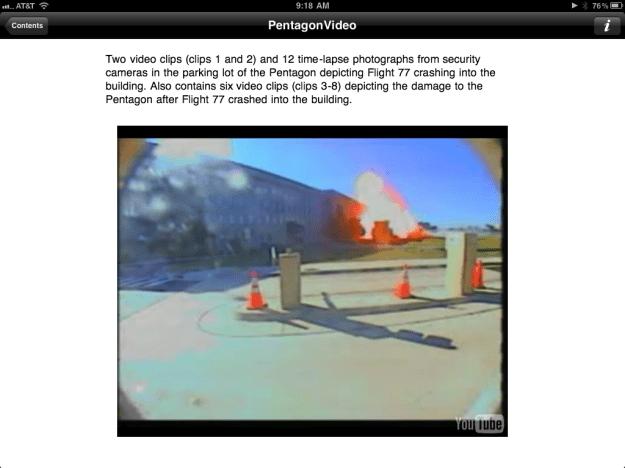 Security Camera Footage of Crash into Pentagon