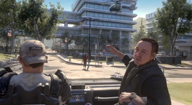 Call of Duty: Kevin Spacey? Nope. It's Call of Duty: Advanced Warfare.