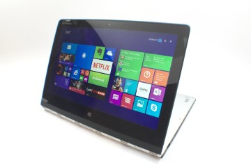 Yoga 3 Pro in Stand mode.