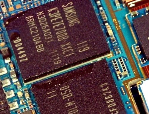 Samsung Galaxy S II Insides
