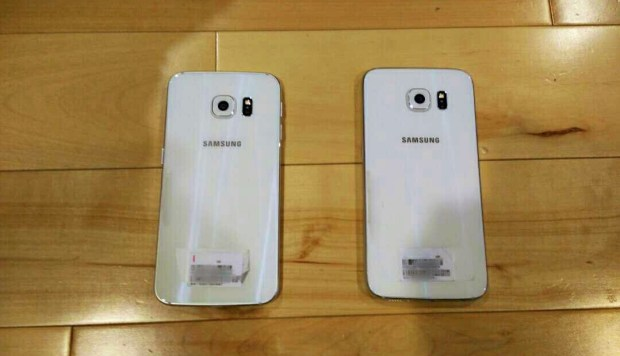 We expect a glass back and metal frame on the Galaxy S6.