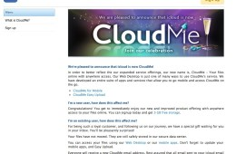 iCloud is CloudMe Not Apple