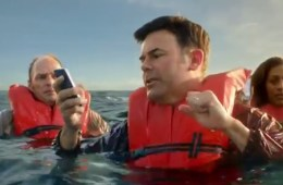 Verizon iPhone 4S Boat ad bashing Sprint