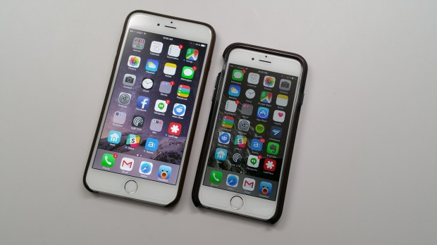 The Zagg InvisibleShield Glass doesn't change the touch or clarity of the iPhone 6 screen, and it fits inside a case.
