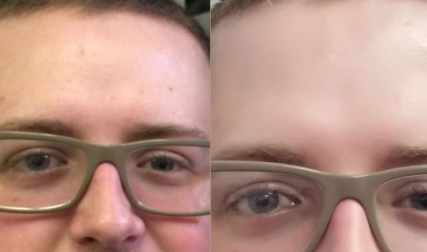 beauty face comparison