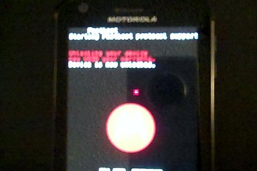 Motorola Atrix 4G Bootloader
