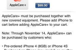 iPhone 4S AppleCare+