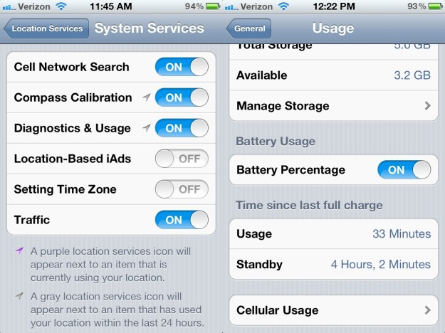 iPhone 4S Battery Life Fix