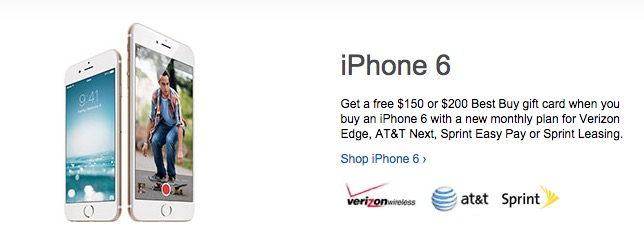 Save $150 to $200 with these iPhone 6 deals for March 2015.