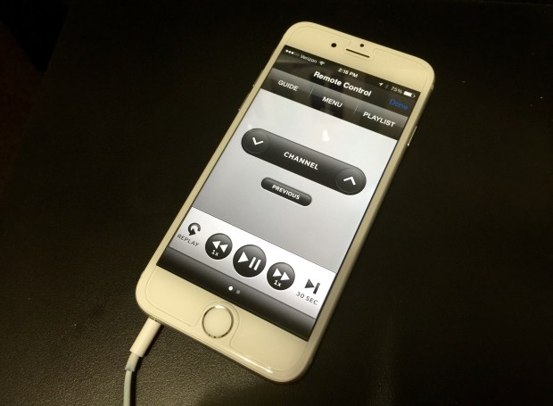 Here's how you can use the iPhone 6 as a remote control.