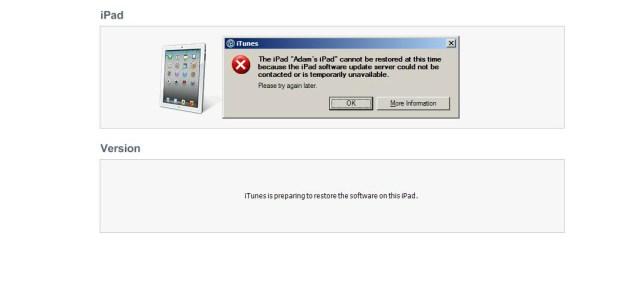 iPad 2 iOS 5 Update