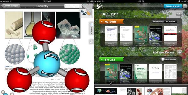 Kno App for iPad 3D Models