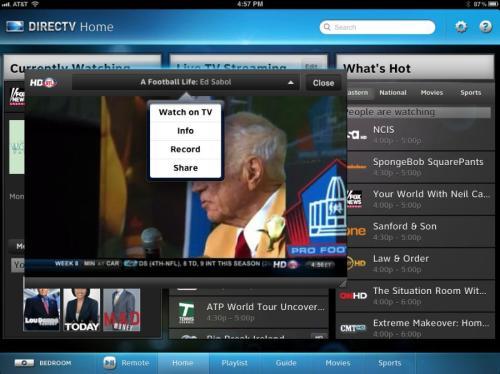 DirecTV for iPad