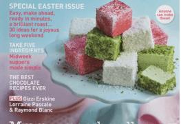 delicious. Magazin Cover 04/2011