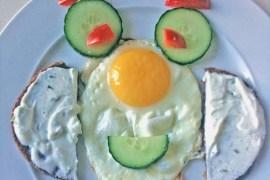 Kinderteller Spiegelei |GourmetGuerilla.de